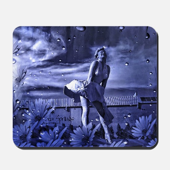 Marilyn Monroe in Palm Springs Mousepad
