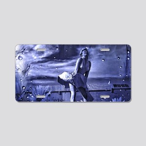 Marilyn Monroe in Palm Spri Aluminum License Plate