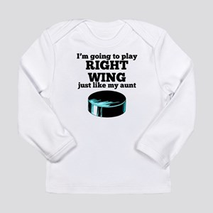 Right Wing Like My Aunt Long Sleeve T-Shirt