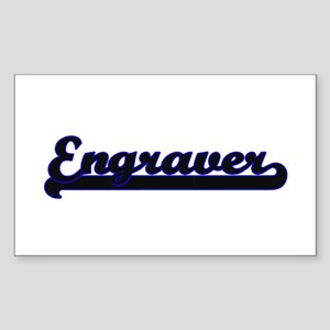 Engraver Classic Job Design Sticker