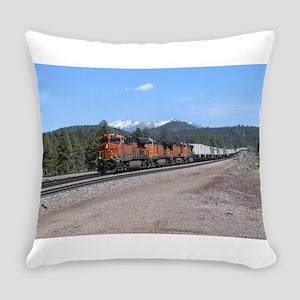 BNSF in Arizona 1 Everyday Pillow