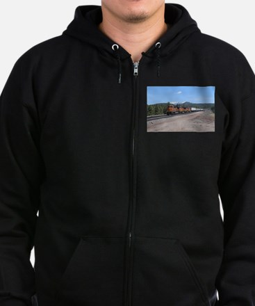 BNSF in Arizona 1 Zip Hoodie