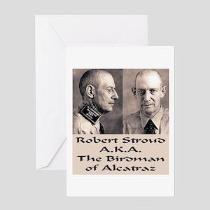 Robert Stroud Greeting Card