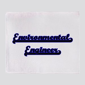 Environmental Engineer Classic Job D Throw Blanket