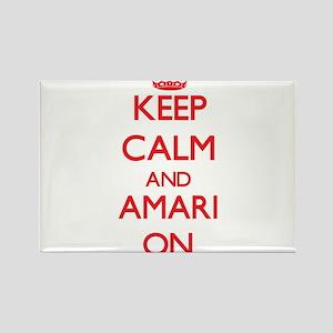 Keep Calm and Amari ON Magnets