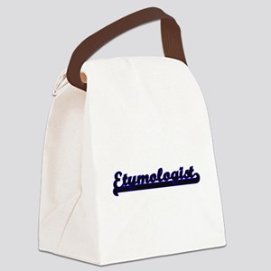 Etymologist Classic Job Design Canvas Lunch Bag