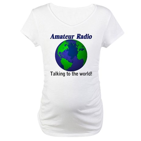 Talking To The World Maternity T-Shirt