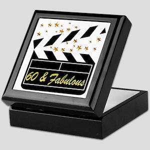 60TH DAZZLING DIVA Keepsake Box