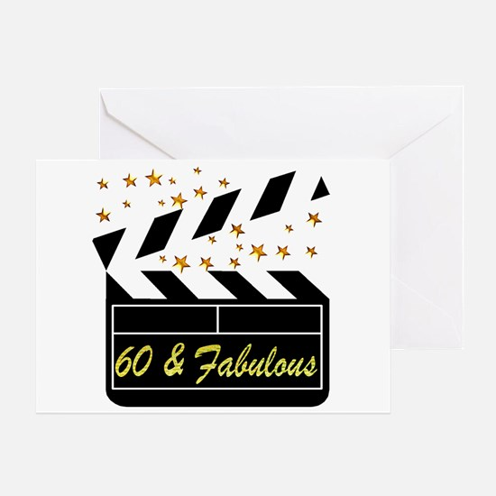 60TH DAZZLING DIVA Greeting Card