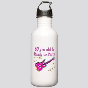 60TH ROCK STAR Stainless Water Bottle 1.0L