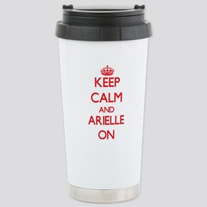 Keep Calm and Arielle O Stainless Steel Travel Mug