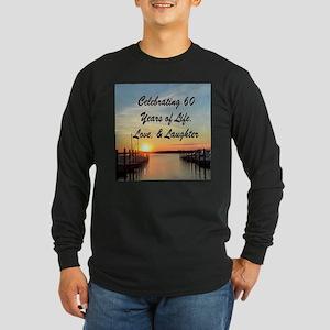 SPIRITUAL 60TH Long Sleeve Dark T-Shirt