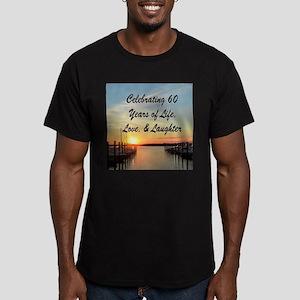SPIRITUAL 60TH Men's Fitted T-Shirt (dark)