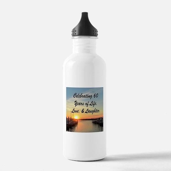 SPIRITUAL 60TH Water Bottle