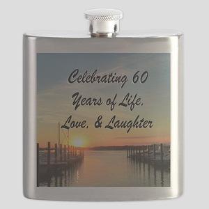 SPIRITUAL 60TH Flask