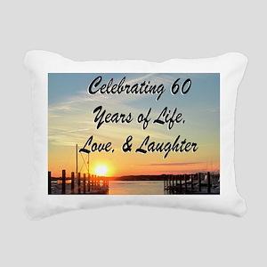 SPIRITUAL 60TH Rectangular Canvas Pillow