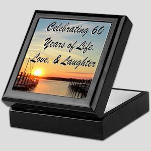 SPIRITUAL 60TH Keepsake Box