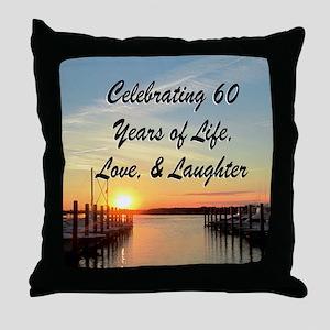 SPIRITUAL 60TH Throw Pillow