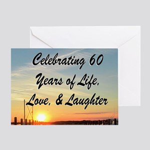 SPIRITUAL 60TH Greeting Card