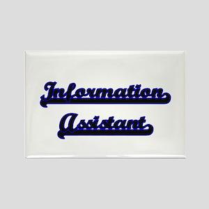 Information Assistant Classic Job Design Magnets