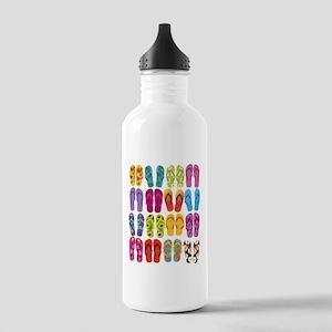 Summer Fun Flip Flops Stainless Water Bottle 1.0L