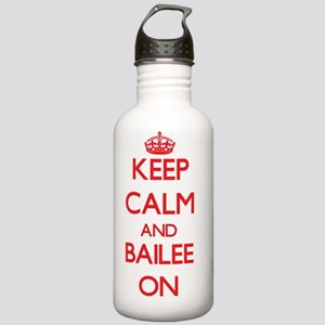 Keep Calm and Bailee O Stainless Water Bottle 1.0L