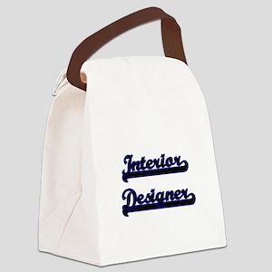 Interior Designer Classic Job Des Canvas Lunch Bag