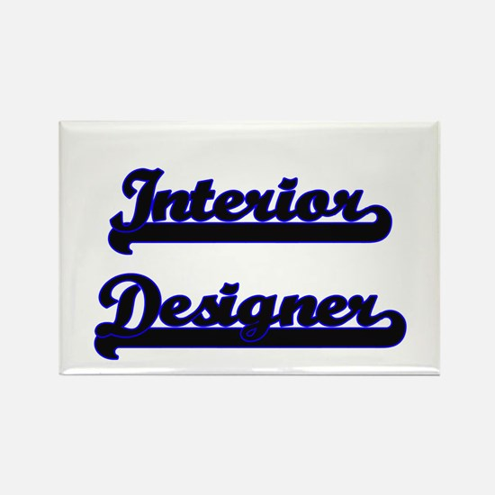 Interior Designer Classic Job Design Magnets