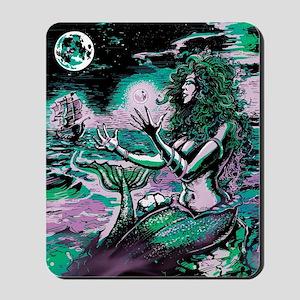 Mermaid Siren Atlantis Pearl Mousepad