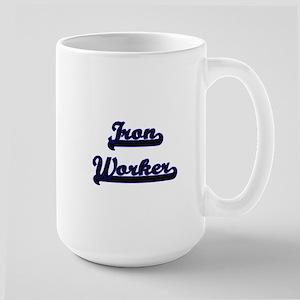 Iron Worker Classic Job Design Mugs