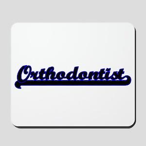 Orthodontist Classic Job Design Mousepad