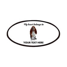 Personalized Basset Hound Patch