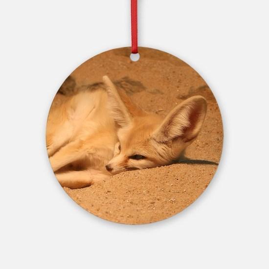 Fennec Fox Ornament (Round)