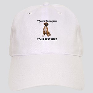 Personalized Boxer Dog Cap