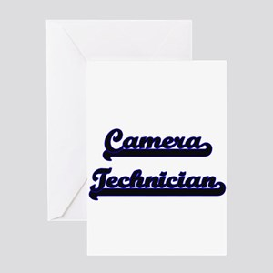Camera Technician Classic Job Desig Greeting Cards