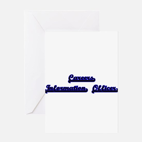 Careers Information Officer Classic Greeting Cards