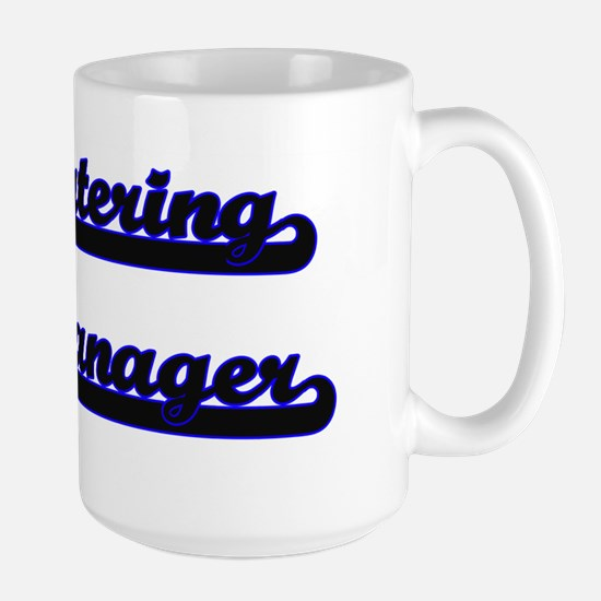 Catering Manager Classic Job Design Mugs