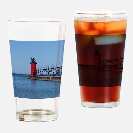 Lake Drinking Glass