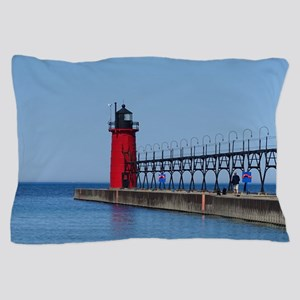 South Haven Lighthouse Pillow Case