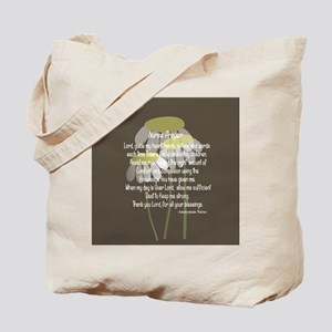Nurse Prayer Tote Bag