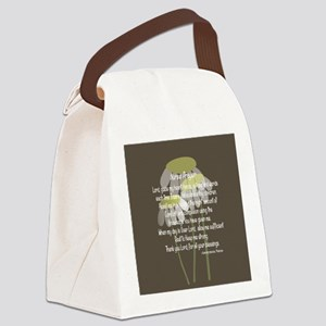 Nurse Prayer Canvas Lunch Bag