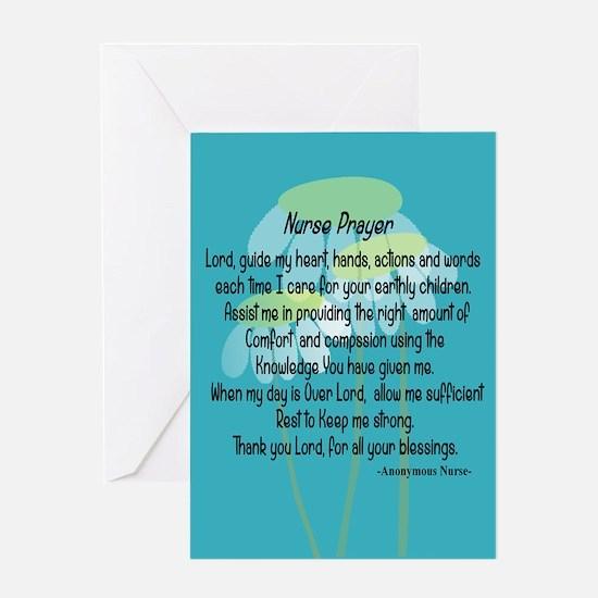 Nurse Prayer Greeting Cards