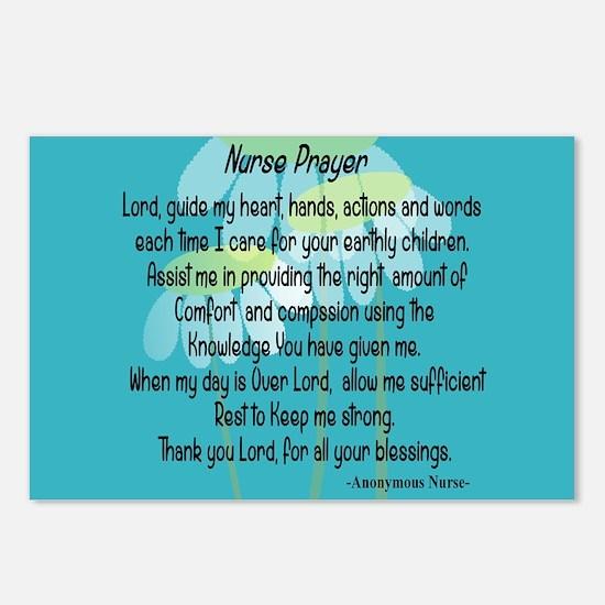 Nurse Prayer Postcards (Package of 8)