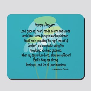 Nurse Prayer Mousepad