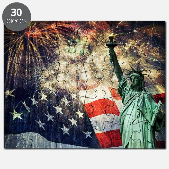 Statue of Liberty &  Fireworks Puzzle