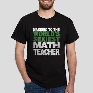 Married To The Worlds Sexiest Math Teacher T-Shirt