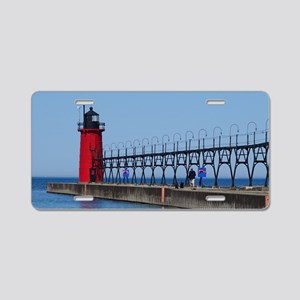 South Haven Lighthouse Aluminum License Plate