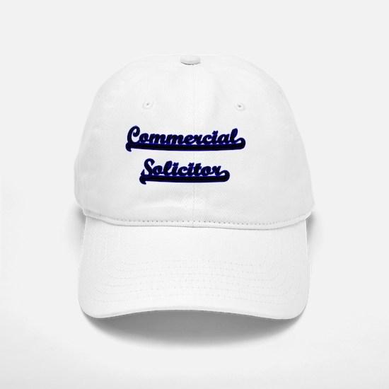 Commercial Solicitor Classic Job Design Baseball Baseball Cap