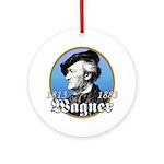 Richard Wagner Ornament (Round)