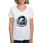Richard Wagner Women's V-Neck T-Shirt
